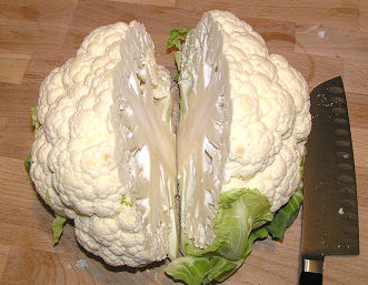 Cauliflower - Sliced