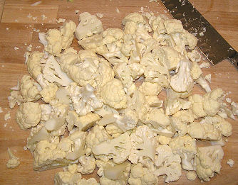Cauliflower - Chopped
